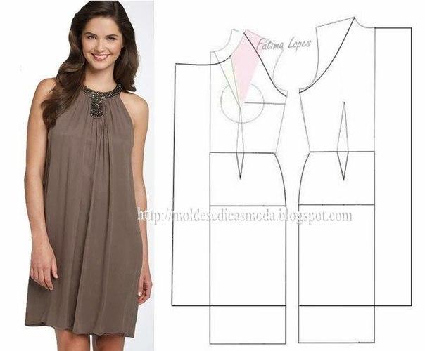 платье выкройка28 (604x500, 100Kb)