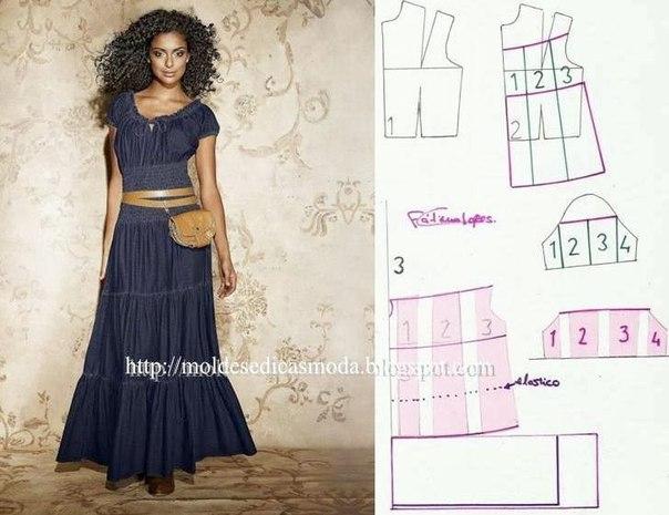 платье выкройка30 (604x465, 182Kb)