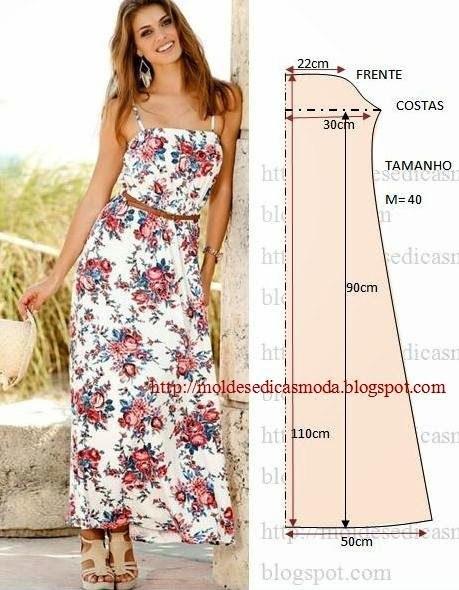 платье выкройка32 (459x590, 223Kb)