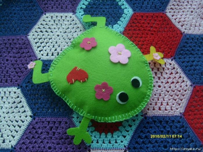 Сшить лягушку своими руками