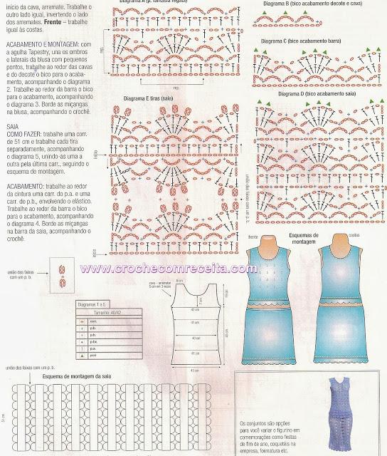 conjunto saia e blusa graficos em croche com receita (544x640, 395Kb)