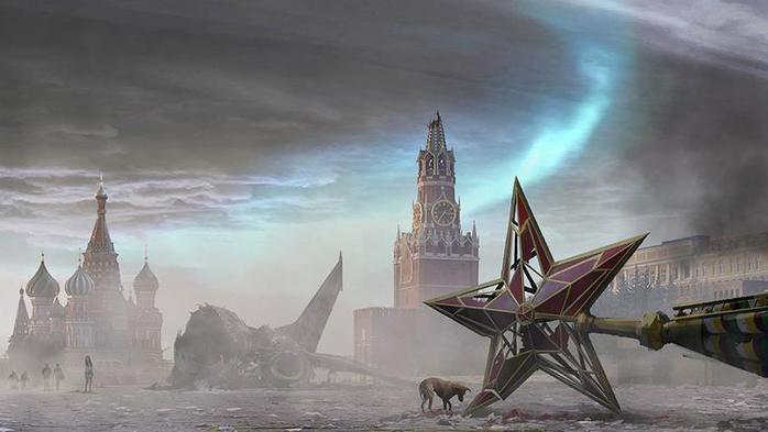 Разрушенная Москва на фото из «Фантома»