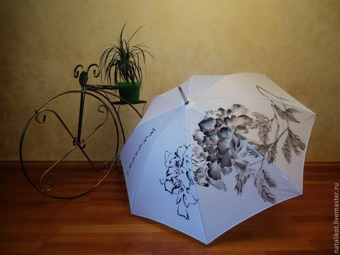 Зонты для росписи мастер класс