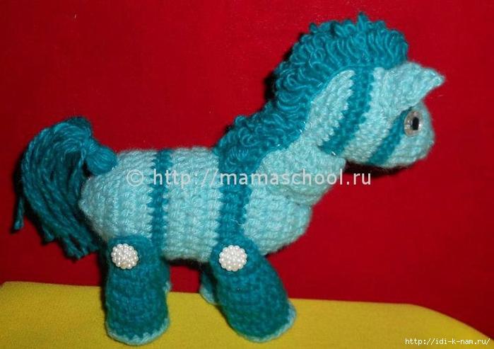 вязаная лошадка, как связать лошадку, схема вязания лошадки, мастер класс по вязанию лошадки, Хьюго Пьюго рукоделие вязаная лошадка,