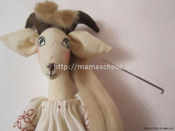 мягкая игрушка коза тильда, как сшить козу тильду. выкройка козы тильдочки, необычные тильдочки,  Хьюго Пьюго рукоделие,