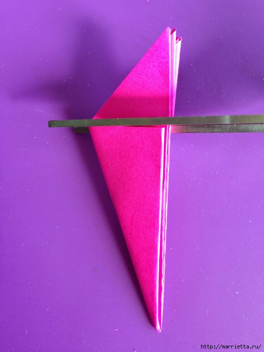 Цветы из мешковины - Эхинацея Пурпурная. Мастер-класс (10) (525x700, 221Kb)