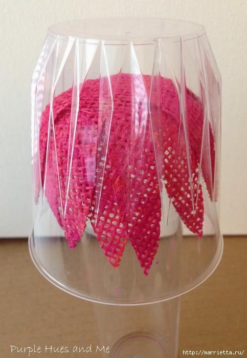 Цветы из мешковины - Эхинацея Пурпурная. Мастер-класс (16) (483x700, 224Kb)