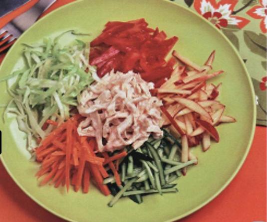 Витаминный салат пошаговый рецепт