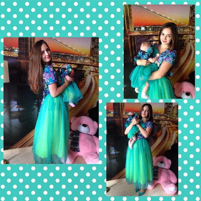 Платья для мамы и малышки