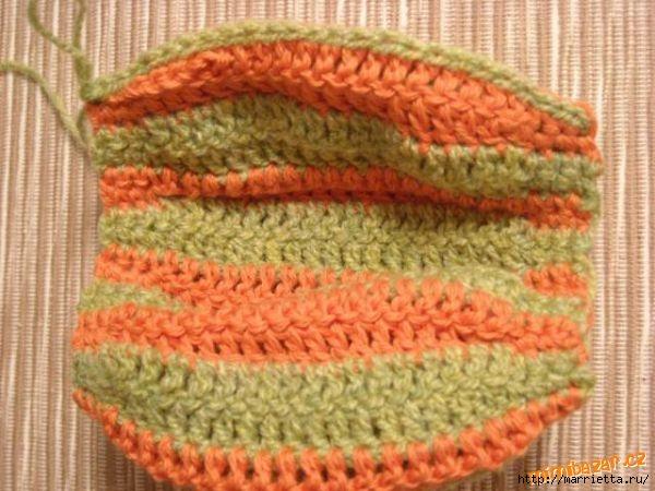 Веселое вязание крючком - ПОЛОСАТЫЕ ТЫКОВКИ (9) (600x450, 166Kb)