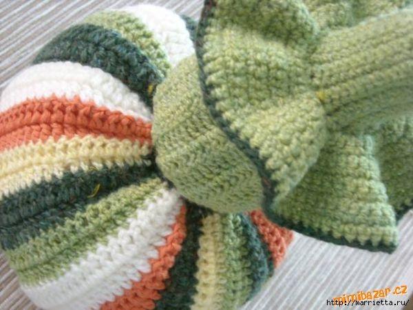 Веселое вязание крючком - ПОЛОСАТЫЕ ТЫКОВКИ (25) (600x450, 146Kb)