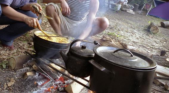 Выбираем туристическую посуду