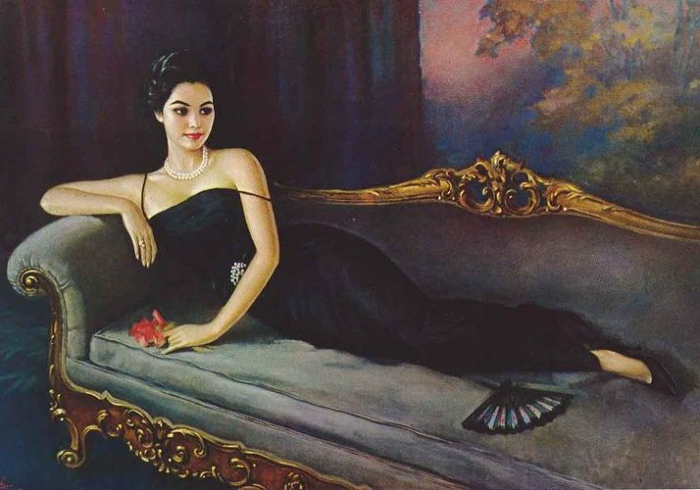 Принцесса одетый в черное (700x490, 306Kb)