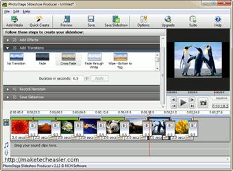 PhotoStage Slideshow Бесплатная программа для создания слайдшоу из фотографий