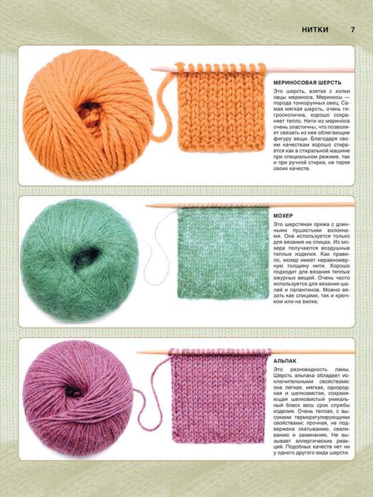 Виды ручного вязания 89