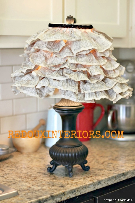 Lamp-shade-made-of-book-pages-redouxinteriors (465x700, 237Kb)