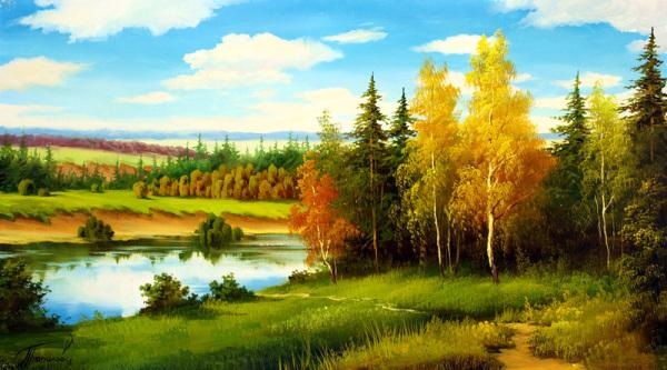 осень картины 8 (600x333, 278Kb)
