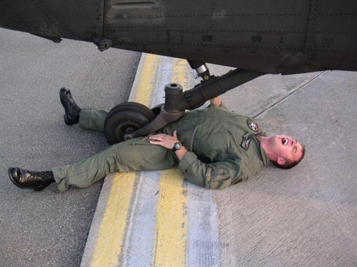 Настоящий армейский юмор