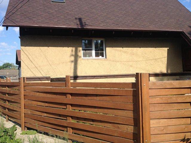 Красивый забор своими руками из доски 364