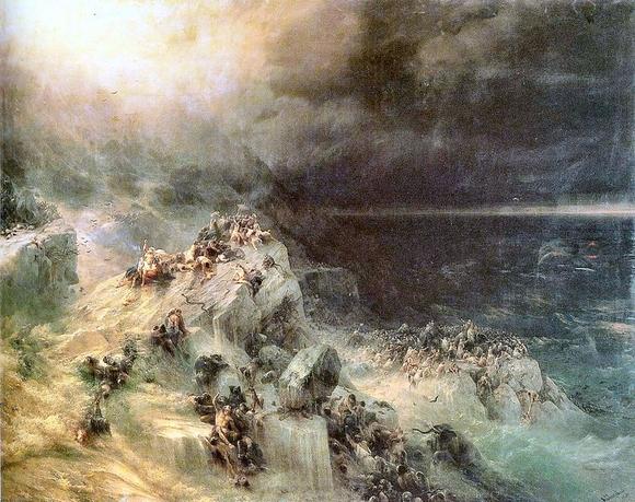 Айвазовский - Всемирный потоп, 1864novich_49 (580x459, 368Kb)