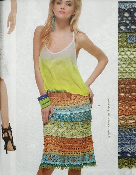 falda de crochet multicolor patron1 (545x700, 88Kb)