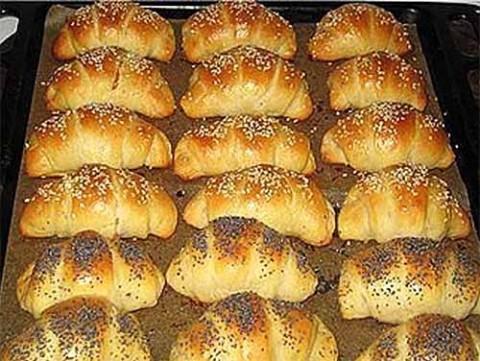 Печенье рогалики рецепт с пошагово