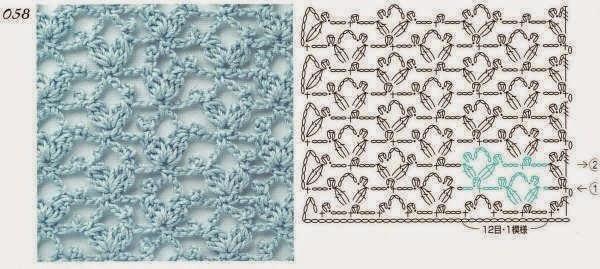 pontos croche bonitos (1) (1) (600x269, 162Kb)
