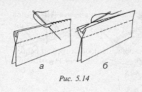 Как сделать внутренний шов