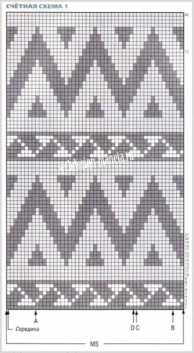 vyazanyj-zhaket-spitsami-s-zhakkardovymi-uzorami-shema-1 (384x700, 234Kb)