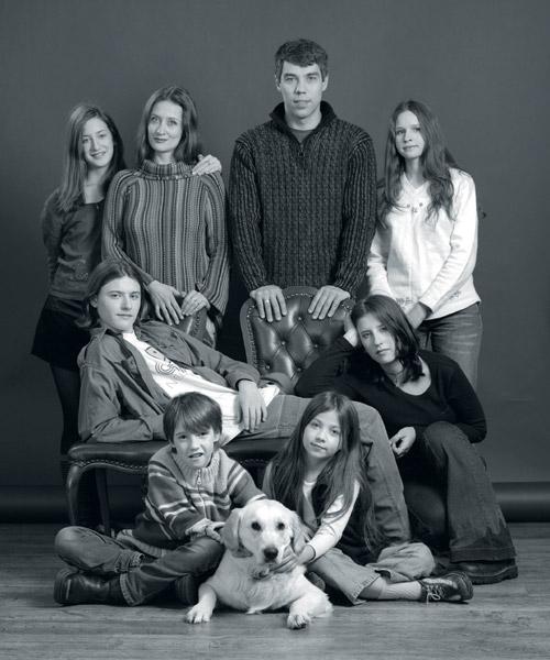 илья сегалович с женой и детьми фото