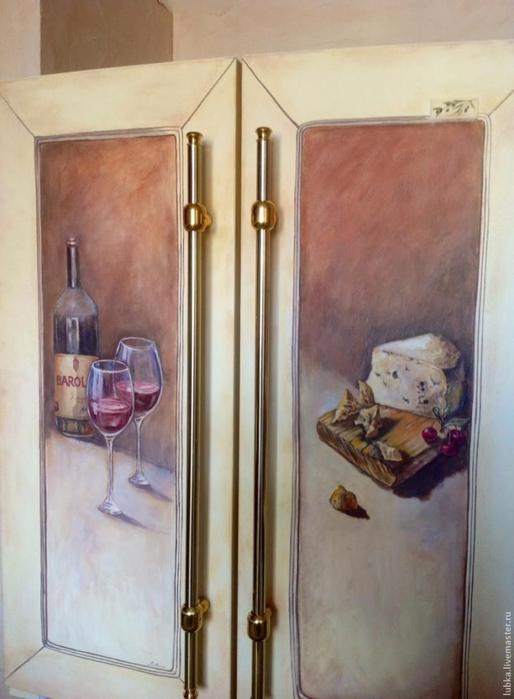 Роспись и декор холодильника в стиле прованс/1783336_140913222938 (514x700, 206Kb)