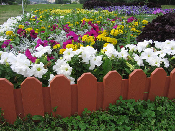 Декоративный заборчик своими руками для цветов