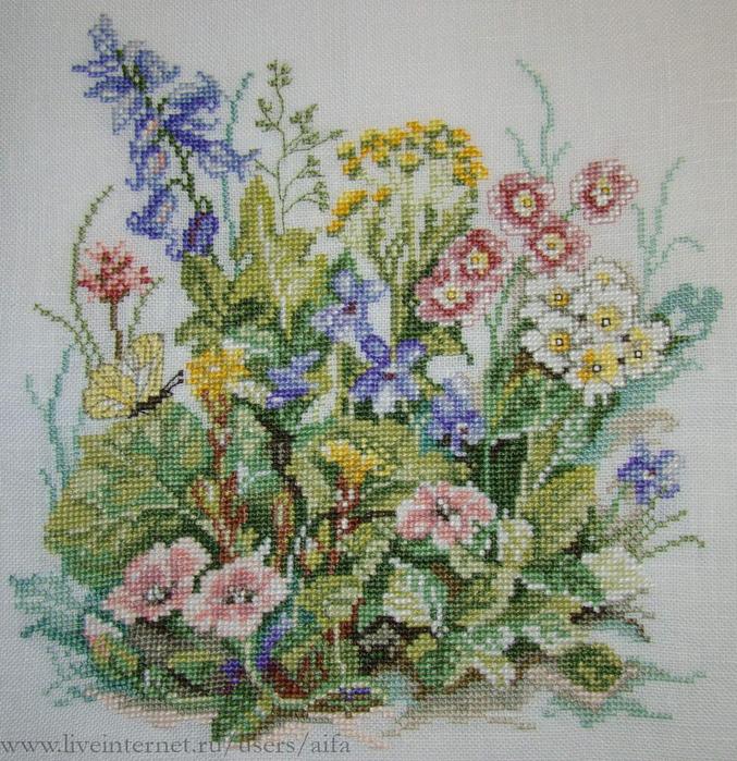 Полевые цветы Lanarte.