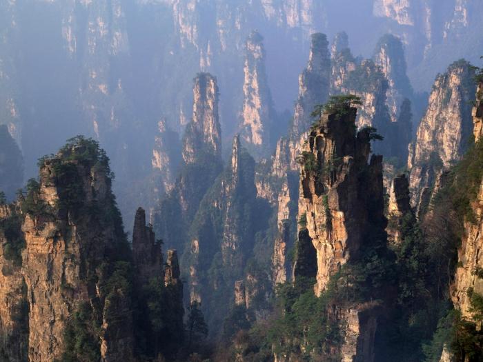 3. Китай. Хуаншань. Желтые горы (700x525, 417Kb)