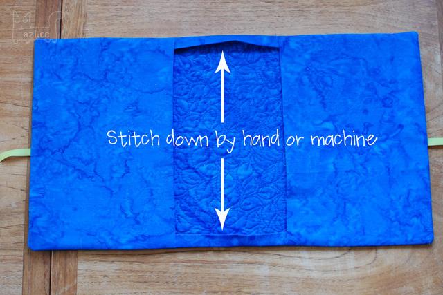 Как сделать обложку из ткани для книги
