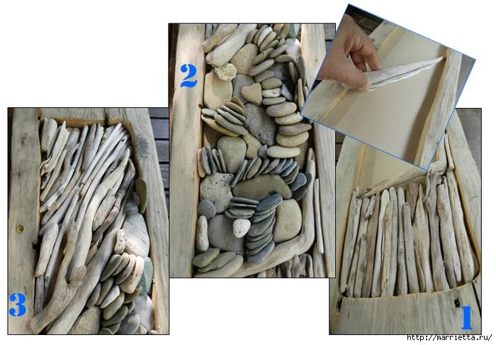 Экостильное панно из гальки и коряжек (7) (700x486, 236Kb)