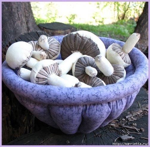 Осенние грибочки из ткани. Фото идея (5) (504x493, 159Kb)