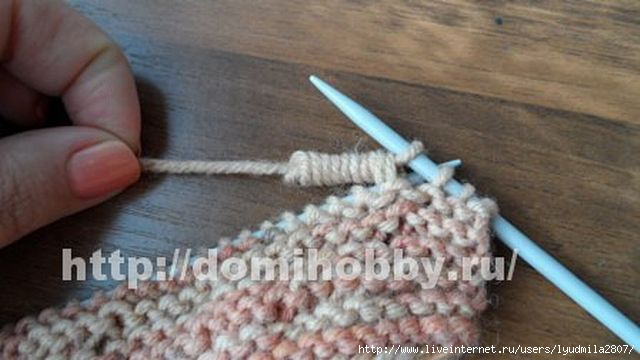 Вязание спицами узор пружинка 92