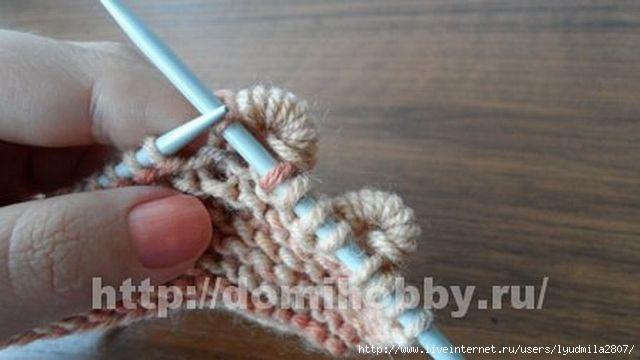 Вязание спицами узор пружинка 37