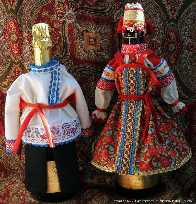 Русский народный стиль своими руками