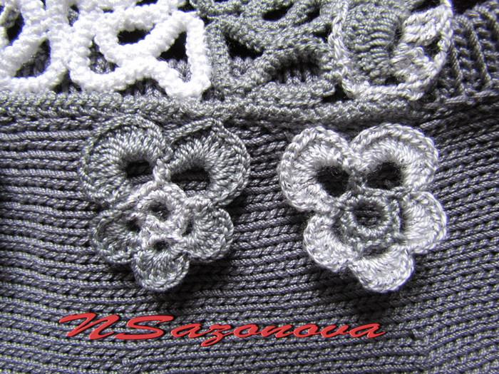"""娜塔亚的罗马尼亚花边欣赏:童裙""""羔羊"""" - maomao - 我随心动"""