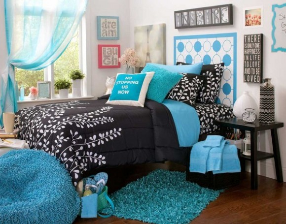 Bright-Aqua-Bedrooms-Pic-580x455 (580x455, 253Kb)