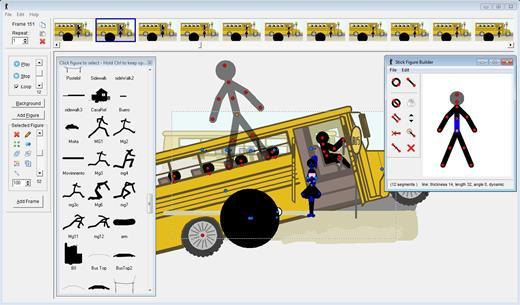 Бесплатная программа для анимации Pivot Stickfigure Animator