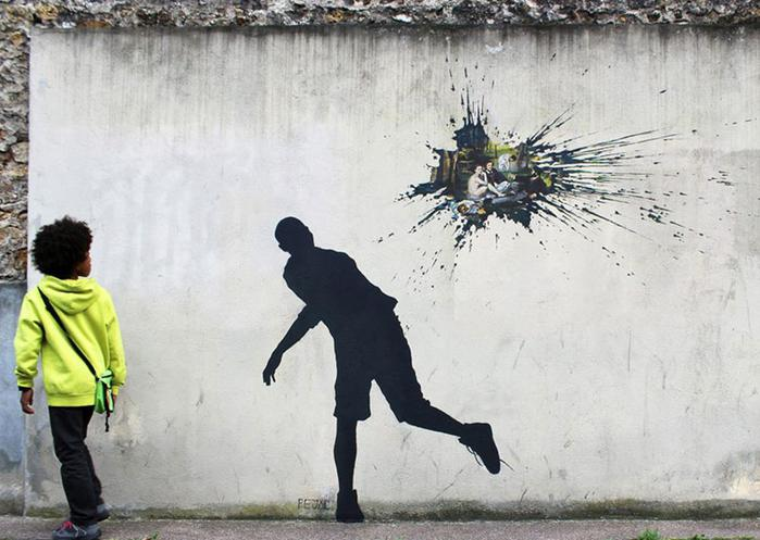 Pejac: уличное искусство