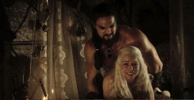 эротические моменты с сериала игры престолов