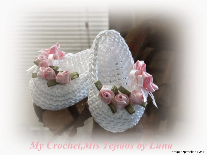 My Crochet,Mis Tejidos by Luna-8-10-2014-Baby Booties-3 011 (700x525, 185Kb)