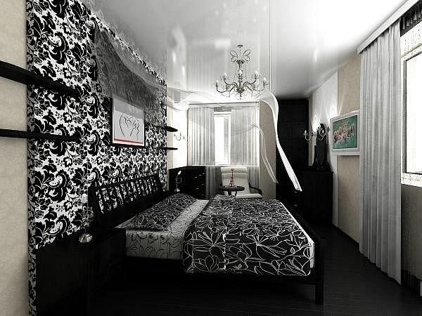 Фото дизайн спальни длинной