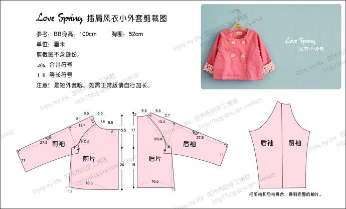 Сшить куртку для девочки своими руками на весну