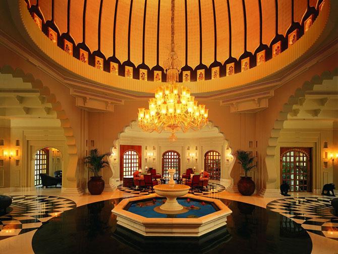 отель Oberoi Udaivilas индия 6 (670x503, 311Kb)