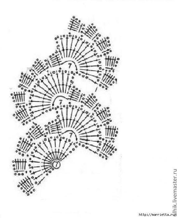 ленточное кружево крючком (13) (572x700, 155Kb)